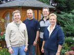 Der Vorstand (v.l. Frank Dirlam, Peter Kubik, Martin Vogel, Claudia Khan